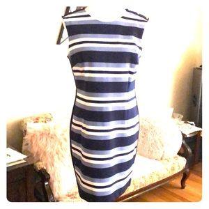 Michael Kors sleeveless dress- zip back size 10